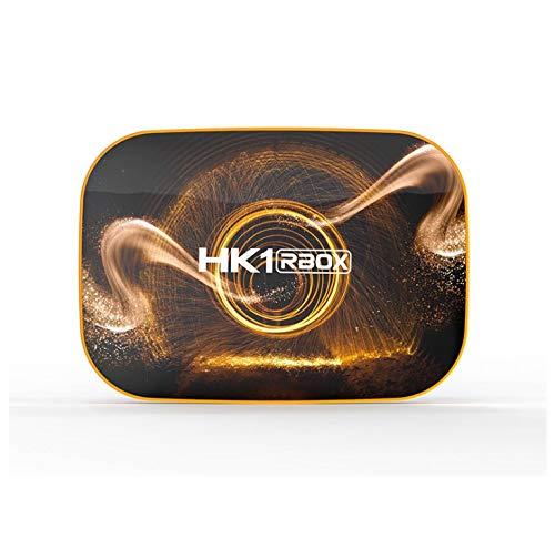 Oferta especial HK1 RBOX R1 Rockchip RK3318 Quad Core Android 10 OS 2 GB RAM 16 GB ROM o 4 GB RAM 32/64/128 GB ROM USB 3.0 BT 2.4G/5GHz Dual WiFi 4K Smart TV Box (4+128GB)