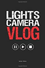 Lights Camera Vlog: A Planner for Vloggers and Influencers
