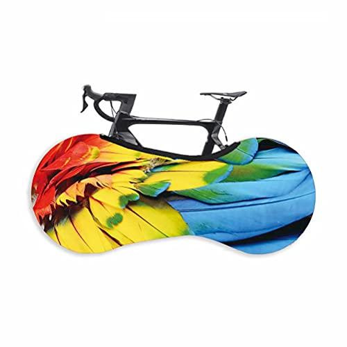 HGTRH Funda para Bicicleta Estatica Plegable, elástica Lavable antiarañazos Plegable, La Mejor solución para los Suelos y Las Paredes Libres DE Suciedad, para Bicicletas de Montaña