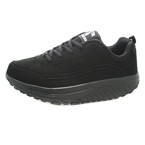 Boston Athletics Black Trim Shape Roller Zapatillas de mujer-37