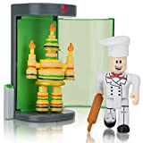 Roblox Action Collection - Make a Cake: Cake Monster Catastrophe! Game Pack [Includes Exclusive Virtual Item]