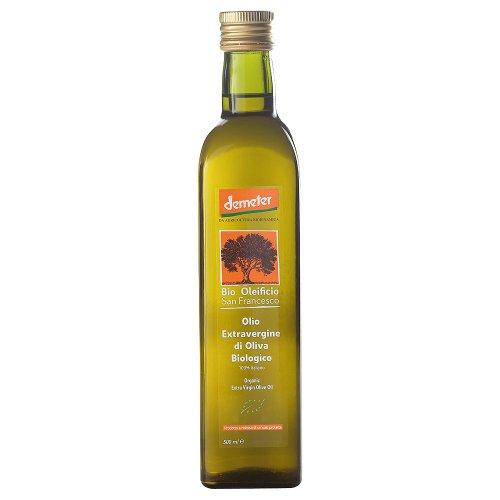 Bio Oleificio San Fransesc Bio Demeter Olivenöl extravergine (2 x 500 ml)