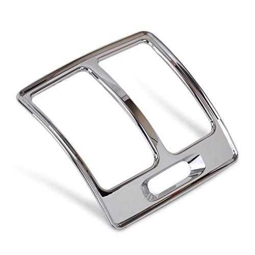 GaCunYan Nueva Cubierta del Ajuste de la ventilación de Aire de la Caja Trasera del Recubrimiento de Cromo para Ford Escape Kuga 2013 2014 2015 GaCunYan