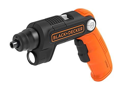 BLACK+DECKER BDCSFL20C-QW Atornillador con Batería de Litio, 5 NM, 180 RPM con...