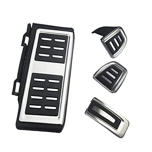 MIOAHD Accesorios para automóviles Juego de Cubierta de Pedal de Freno Muerto, para Skoda Octavia A7 5E 5F 2014+, para Seat Leon 5F MK3, para VW Golf 7