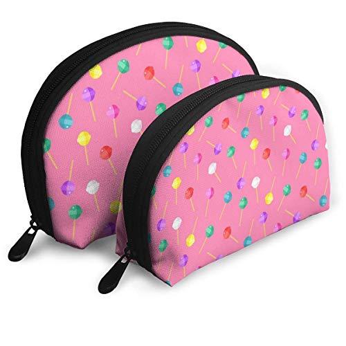 Organizzatore della borsa delle borse portatili della frizione del sacchetto cosmetico della lecca-lecca di Natale della borsa di trucco