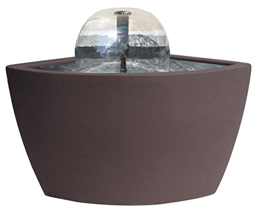 Algreen 35312 Hampton Corner Pond Kit Fountain, Brownstone