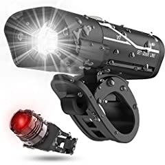 Save Your Hassle - Save Yourself the Hassle to Replace Batteries Every Week. The bike headlight is USB Rechargeable. It charges from your computer or any device with a USB port. This headlight only takes 2 hours to fully charge and has a run-time of ...