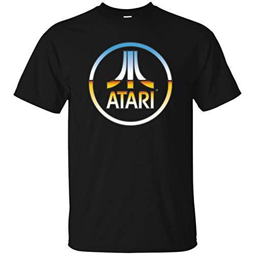 Atari, Retro, Video Game, Console, 2600, 2800, T-Shirt, Game Men's T-Shirt,Black,5XL