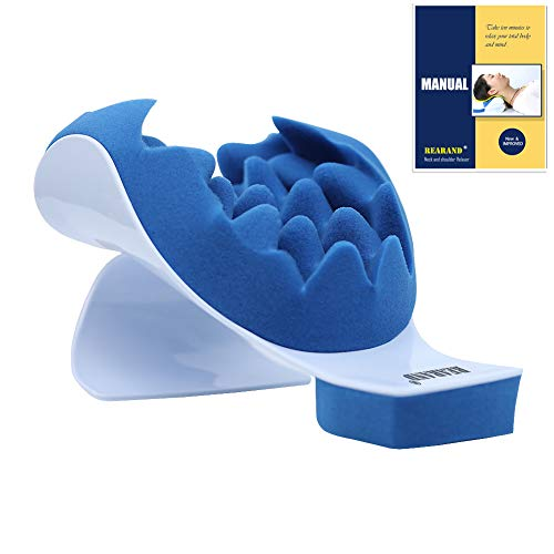 REARAND Neck and Shoulder Relaxer Neck Pain Relief and Support Shoulder Relaxer Massage Traction...