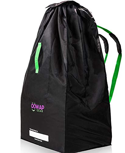 Stroller Bag for Airplane – Special Sale - by Oowap - Stroller Bag - Stroller Cover - Gate Check Bag for Stroller - Fits Single, Double & Jogger Baby Strollers