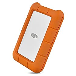 LaCie Rugged Thunderbolt USB-C 5TB External Hard Drive