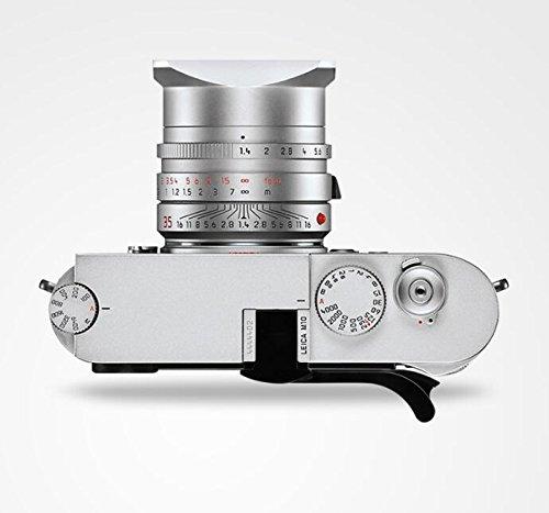 EWOOP Daumengriff aus Metall für Leica M10 für bessere Balance & Handgriffigkeit, Schwarz
