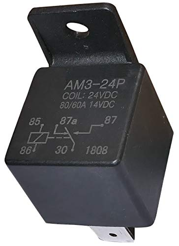 AERZETIX: Rele 24V 80A SPDT electromagnetico para camion C10050