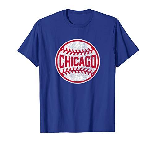 Vintage Chicago Baseball Stitches T-Shirt