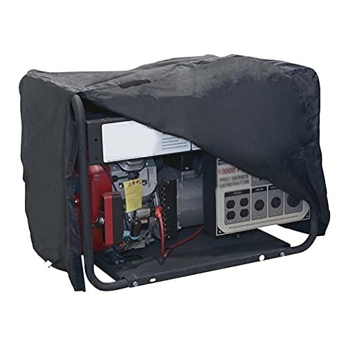 Duotar Capa Impermeável,Cobertura do gerador portátil com revestimento à prova d'água Cobertura protetora do gerador pequeno Cobertura da sombra do sol Cobertura resistente a UV