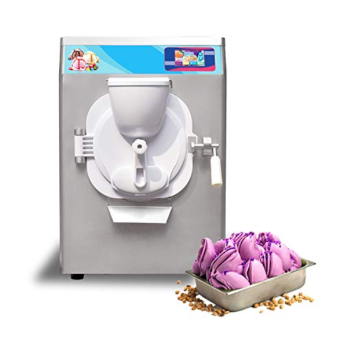 Kolice Commercial Heavy Duty 35 Quart/Hour countertop Gelato ice Cream Machine,Hard ice Cream Machine,ice Cream Maker, Snack Food Machine