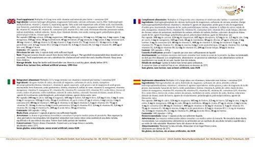 Vita World Multivitamin A-Z Langzeit 100 Tabletten Apotheken Herstellung - 3