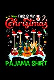 This Is My Christmas Pajama Guitar Christmas Music Notebook 114 Pages 6''x9'' College Ruled