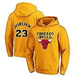 YUUY Herren Basketball Hoodie Michael Jordan #...