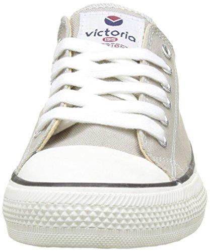 Victoria Zapato Basket Autoclave, Zapatillas Altas Unisex Adulto, Gris, 43 EU