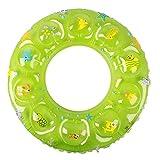 Zxb-shop Anillo de baño de Cristal para Aumentar el Anillo Inflable de la axila del Anillo Flotante de Doble Capa Gruesa (Color : Green, tamaño : XL)