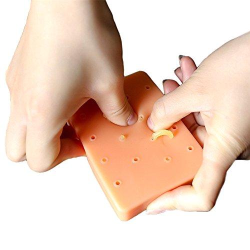 ALIKEEY Slime und Putty Spielzeuge Pop es KumpelpfirsichPickel knallender lustiger SpielzeugPopperEntferner Stoppen Sie, Ihr Gesicht auszuwählen