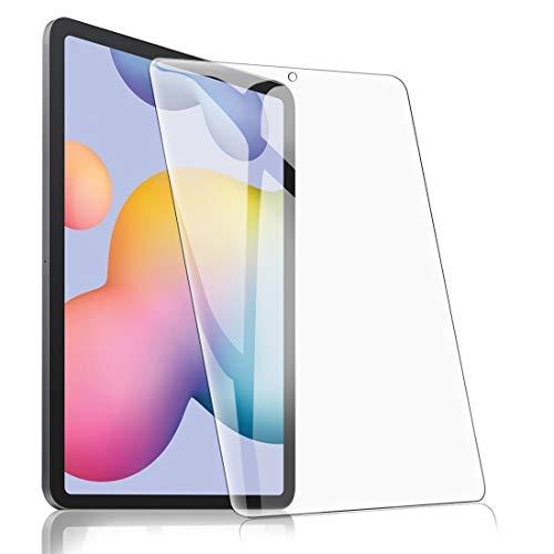 [1 Stück] Panzerglas Folie für Samsung Galaxy Tab S6 Lite 10.4, Transparent Panzerglasfolie Bildschirmschutz Panzerglasfolie 9H Festigkeit Bubble Free Anti-Kratzer Anti-Öl Stoßfest - HD Klar