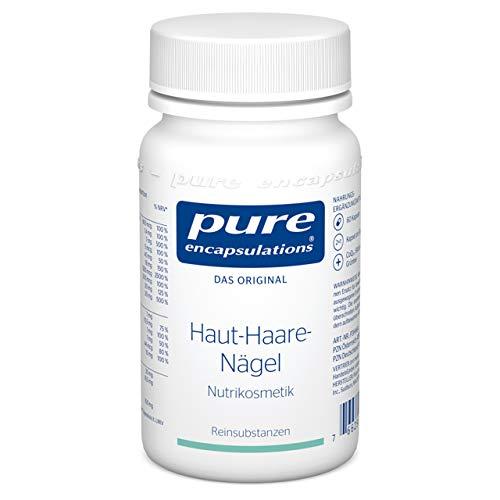 Pure Encapsulations - Haut-Haare-Nägel - Mikronährstoff-Formel mit Biotin und Zink für straffe Haut und kräftiges Haar - 60 Vegetarische Kapseln