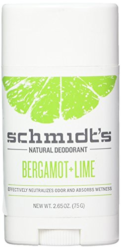 Schmidts Schmidt's natural deodorant stick - bergamot lime - 3.25 oz.