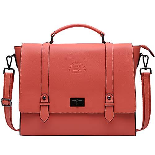 Laptop Briefcase for Women 15.6 Inch Business Computer Bag Satchel Bag Laptop Messenger Bag for Work Office Business Travel School