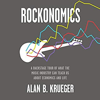 Rockonomics audiobook cover art