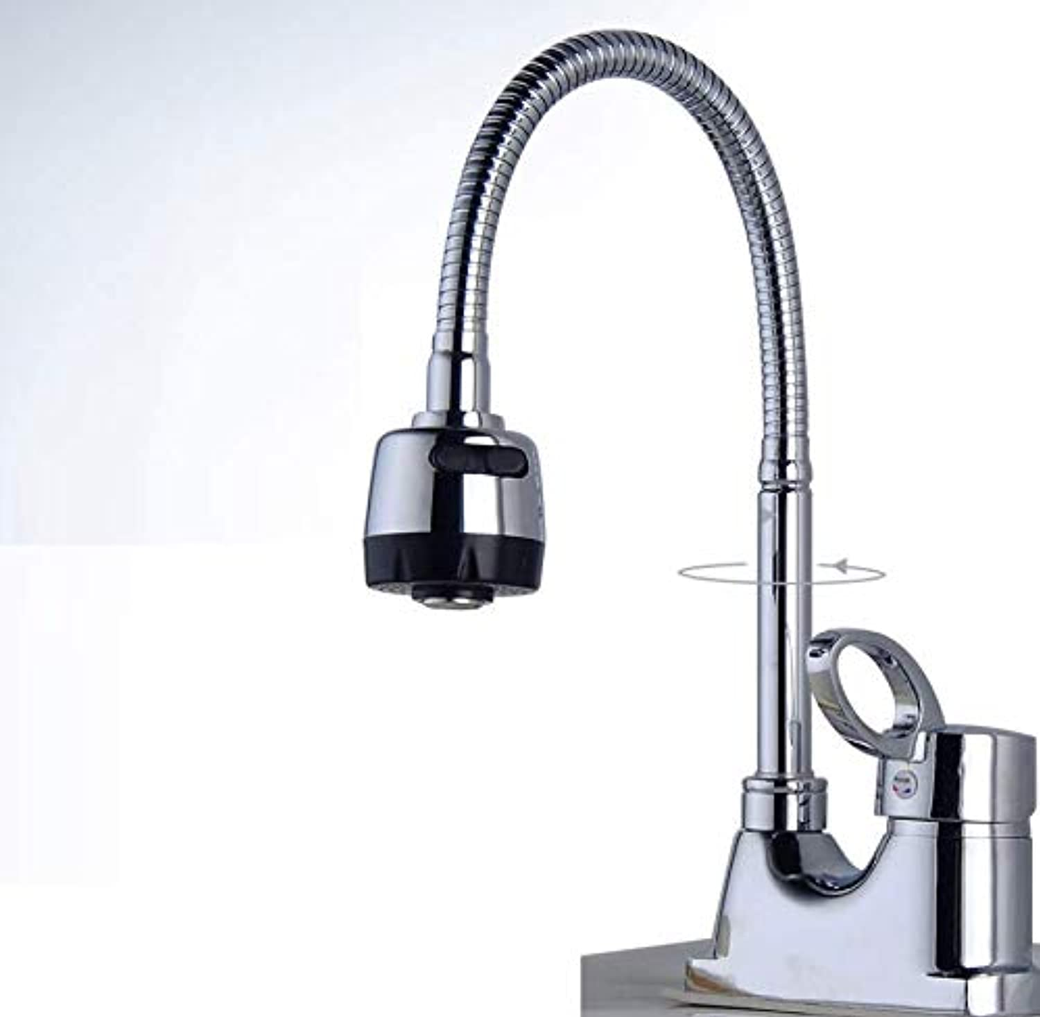 Bathroom Faucet Double Hole Basin Faucet All Copper Body redatable Hot and Cold Water Faucet Double Hole Three Hole Wash Basin Basin Basin Faucet