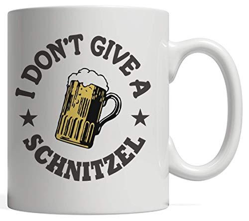 Ik geef geen Schnitzel Grappig Oktoberfest Duitse Fest Mok - Grappig Octoberfest Cadeau Idee voor bierliefhebbers die houden van het drinken van alcohol Bier in om te vieren in dit Beierse Festival!