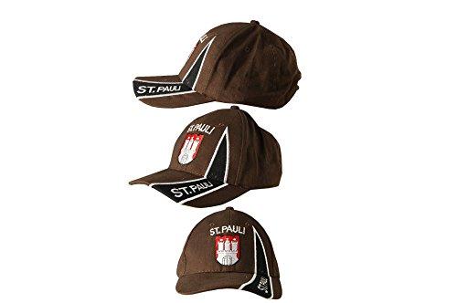 Cap / Kappe Motiv Fahne Deutschland Hamburg St. Pauli 2, fan, Flaggenfritze®