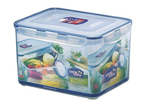 100% ermetico contro aria e liquidi Adatto per microonde, lavastoviglie e congelatore Conserva gli aromi Impilabile 30 anni di garanzia
