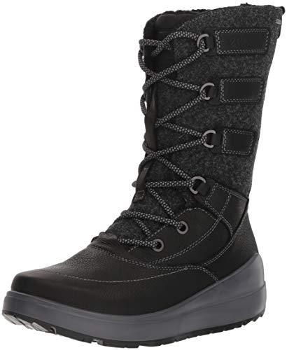 ECCO Damen 834633 Hohe Stiefel, Schwarz (Black 2001), 39 EU