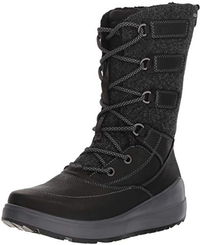 ECCO Damen 834633 Hohe Stiefel, Schwarz (Black 2001), 41 EU