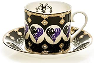English Ladies Co. Disney Bone China Cup & Saucer : Maleficent