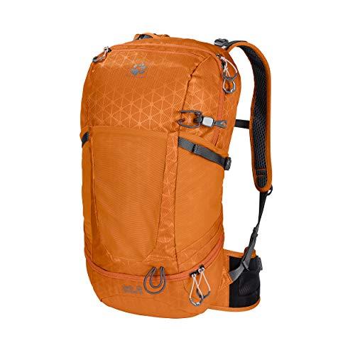 Jack Wolfskin Kingston 22 Pack Rucksack Unisex, orange Grid, ONE Size