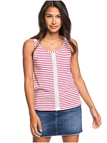 Roxy - Camiseta sin Mangas - Mujer - M - Rosa