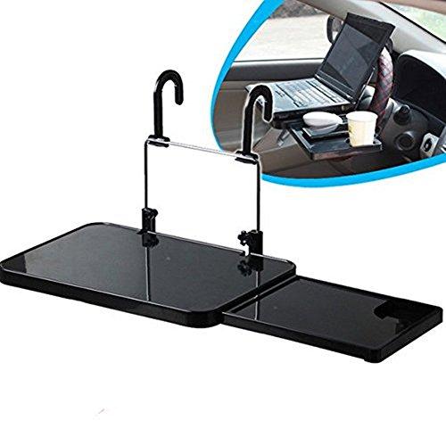 Soekavia - Soporte de mesa para coche, multifunción, con cajón para asiento trasero, reposacabezas y manillar