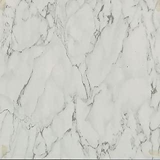 45 Self Adhesive White Marble 12