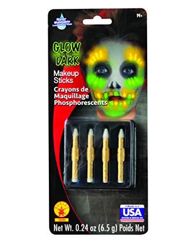 Horror-Shop Glow in The Dark Maquillage Crayons