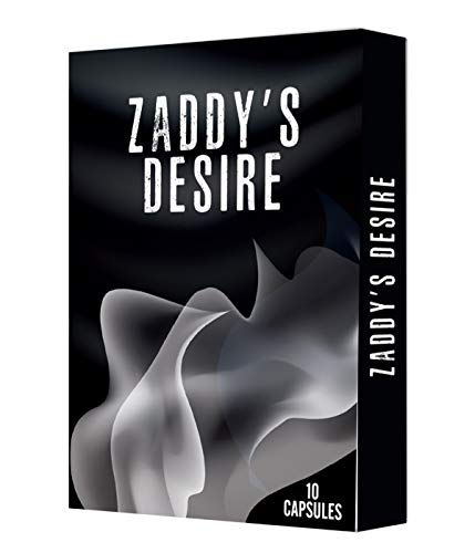 Zaddy's Desire Natural Male Enhancement Capsules - Endurance & Energy Supplement for Girth & Long Lasting Performance - 10 Size Up Male Enlargement Pills for Erection, Growth, Strength & Test Boost