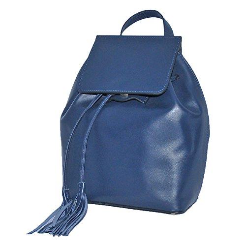 BORDERLINE by Denis Palbiani Women's Backpack blue blue