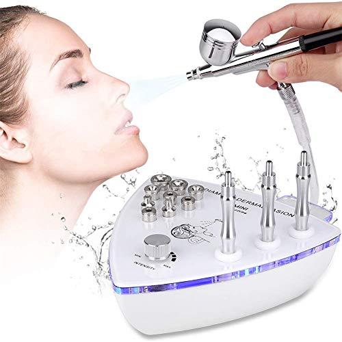 Big aspiration diamant visage soins Peeling microdermabrasion Machine de matériel de salon de pulvérisation à vide pour Personal Accueil Util.Périph