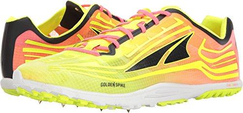 ALTRA Men's AL0A3621 Golden Spike Running Shoe, Lime/Pink - 10 M US