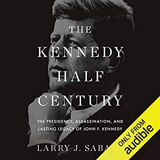 The Kennedy Half Century audiobook cover art