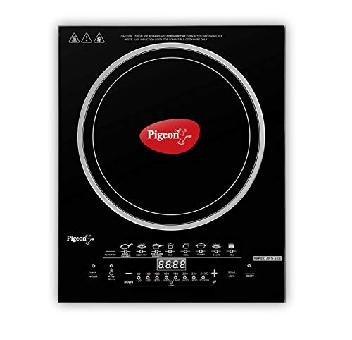 Pigeon by Stovekraft Rapido Anti-Skid 2100-Watt Induction Cooktop
